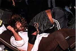 Foley vs. Rock