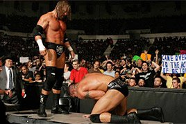 Triple H vs. Randy Orton