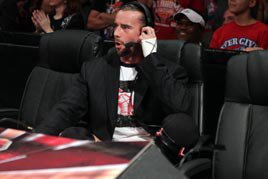 CM Punk on commentary
