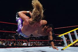 The Rock vs. Triple H in a Ladder Match at SummerSlam 1998