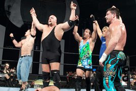 John Cena's victorious team at Survivor Series 2004.