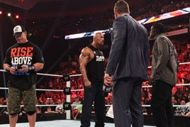 Day After Raw: Rock disses Cena