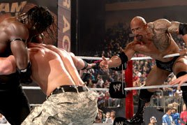 The Rock tags John Cena at Survivor Series