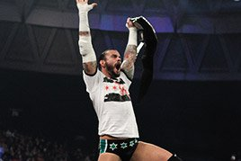 CM Punk wins the 2011 Superstar of the Year Slammy