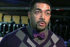 David Otunga and his trademark bowtie