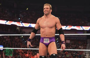 Zack Ryder in the ring on Raw SuperShow