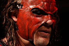 Kane returns in a new mask