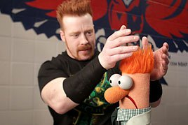 Sheamus and his cousin Beaker