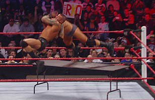 Randy Orton def. Wade Barrett (Tables Match) | WWE
