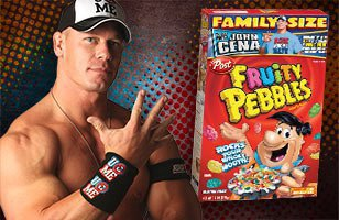 Yabba Dabba Dude: John Cena adds flavor to Fruity Pebbles