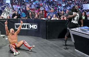 World Heavyweight Champion Daniel Bryan survives his title defense against The Big Show