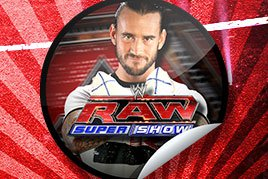 CM Punk sticker on GetGlue