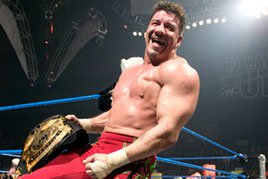 Eddie Guerrero captures the WWE Championship at No Way Out 2004.
