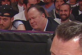 Mr. Belding appears on Raw