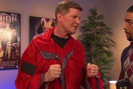 Day After Raw: Laurinaitis' red robe