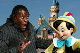 R-Truth visits Disney and Pinocchio