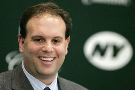 New York Jets General Manager Mike Tannenbaum