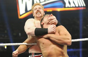 The mighty Sheamus powers his way to WrestleMania XXVIII