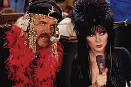 "Mistresses of the Dark? Jesse ""The Body"" Ventura & Elvira"