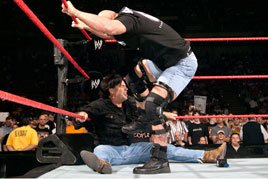Austin stomps a mudhole in Eric Bischoff