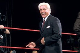 Ric Flair returns to WWE in November 2001