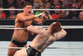 Cody Rhodes unmasks his true character against Sheamus on Raw SuperShow.