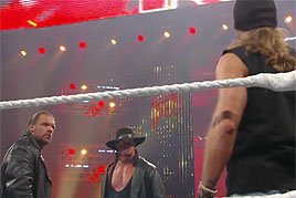 HBK found himself immersed in Triple H's mission last year to end The Undertaker's Streak.
