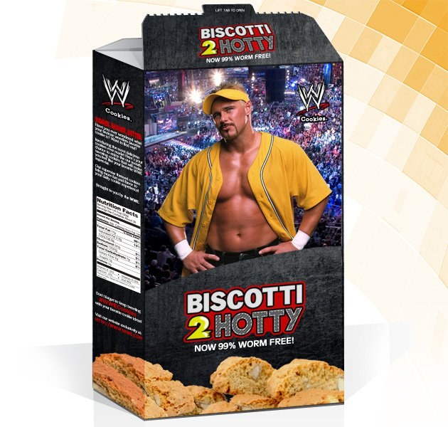WWE Cookies: Biscotti 2 Hotty