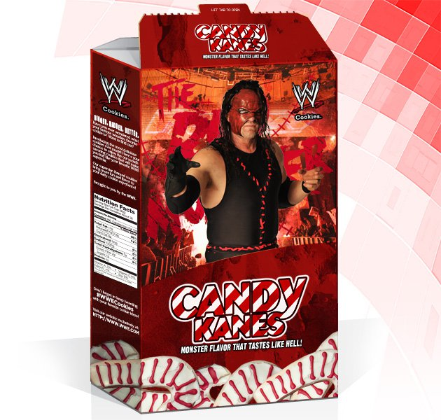 WWE Cookies: Candy Kanes