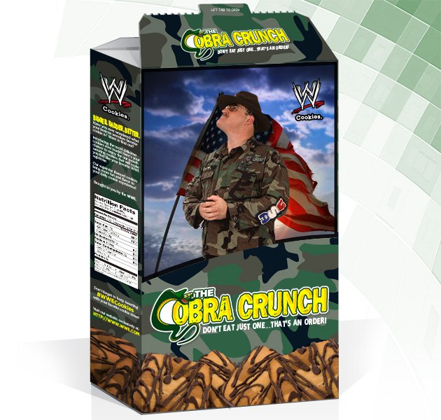 WWE Cookies: Cobra Crunch