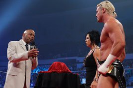 Theodore Long confronts Vickie Guerrero and Dolph Ziggler
