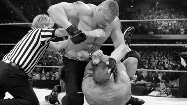 Brock Lesnar vs. John Cena Extreme Rules 2012 results