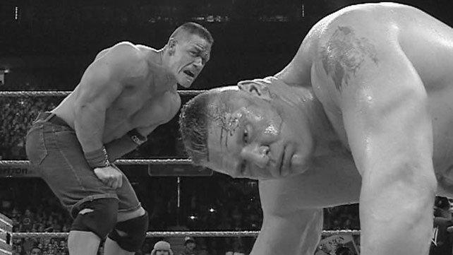 John Cena vs. Brock Lesnar Extreme Rules 2012 results