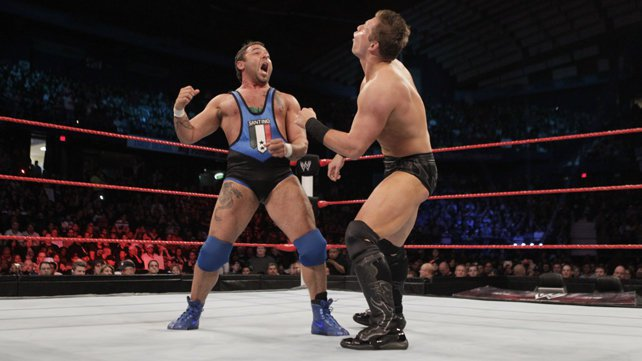 United States Champion Santino Marella defeated The Miz on the WWE Extreme Rules 2012 Pre-Show.