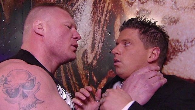 Josh Mathews está se recuperando após ser atacado por Brock Lesnar na WWE Raw Supershow.