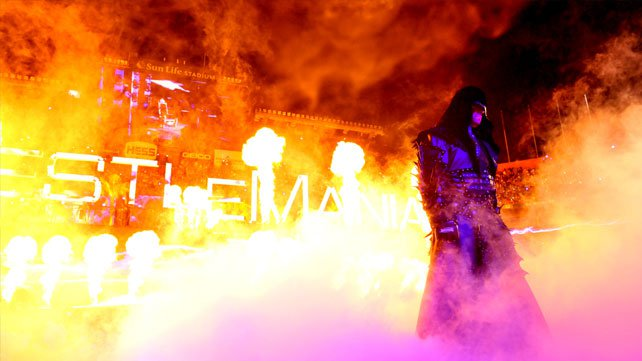 WrestleMania photos