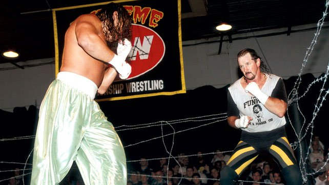 Terry Funk is one of wrestling's toughest men.