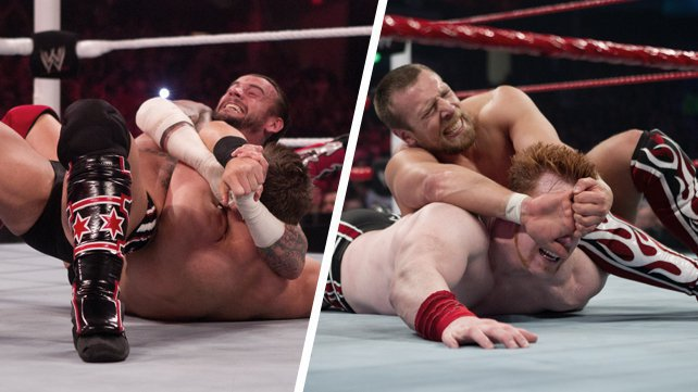 "WWE.com compares the Anaconda Vise and the ""Yes!"" Lock on the eve of WWE Over the Limit"