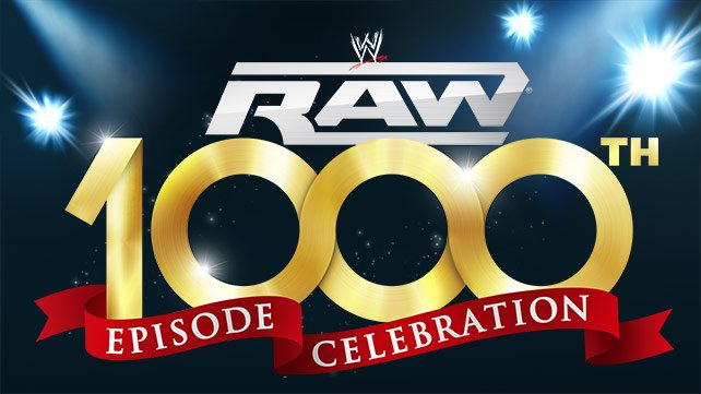 Raw's 1000th episode Celebration