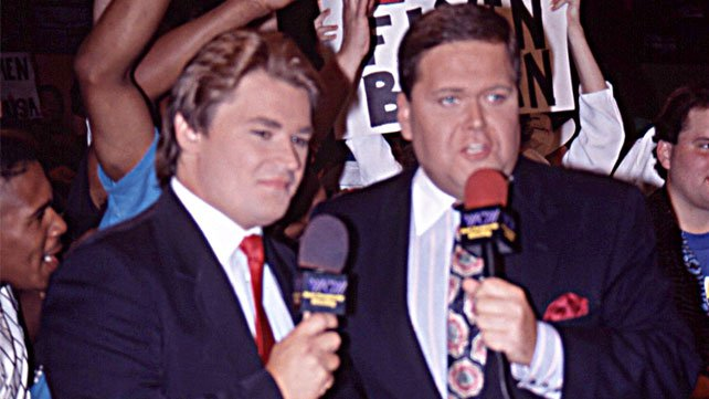 Jim Ross discusses his broadcast partnership with Tony Schiavone.