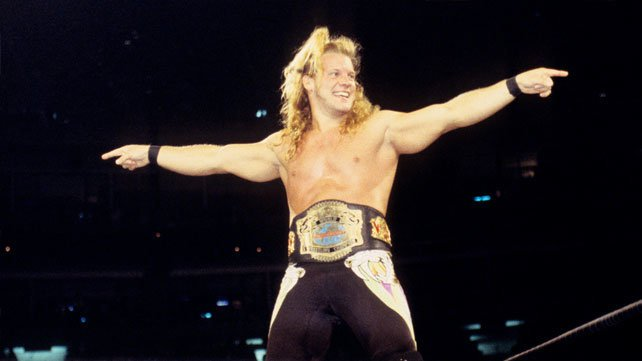 Chris Jericho as WCW Cruiserweight Champion