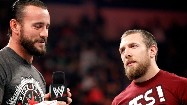WWE Champion CM Punk and Daniel Bryan