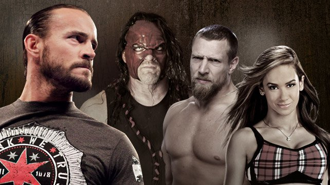 WWE.com asks, is Daniel Bryan, Kane, or AJ the biggest threat to CM Punk's WWE Title reign?