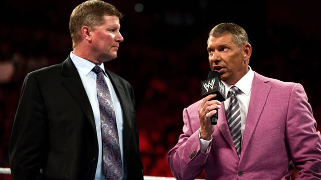 John Laurinaitis e Mr. McMahon