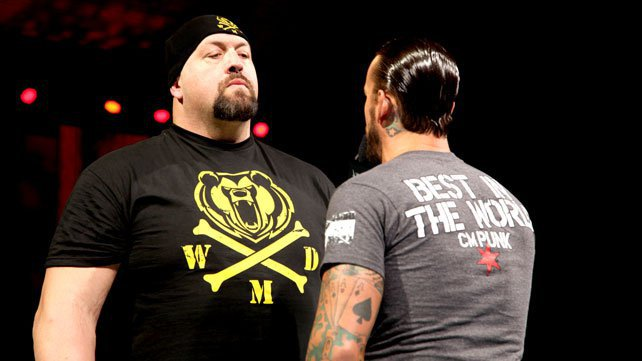 Big Show confronts CM Punk