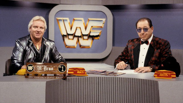 Jim Ross writes about his partnerships with Bobby Heenan and Gorilla Monsoon.