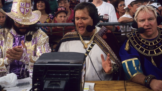 Jim Ross recalls his partnerships with legendary broadcasters Jim Ross and Bobby Heenan.
