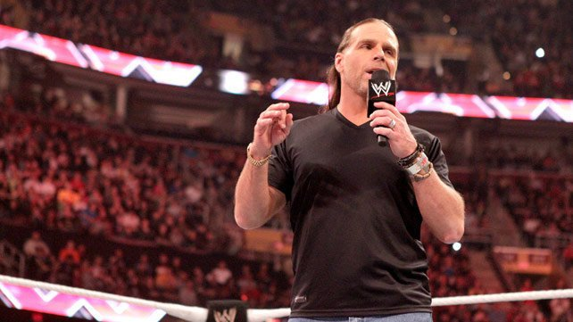 Shawn Michaels: 'No es Daniel Bryan. Hbk642