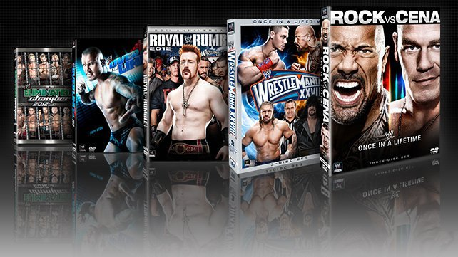 WWE DVD Raw 2013