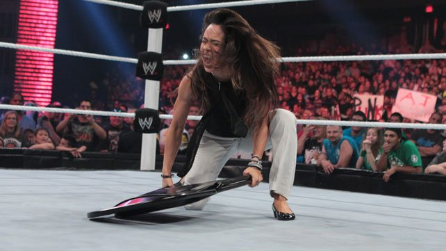 AJ Lee explodes on Raw